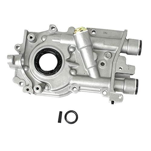 (DNJ Oil Pump OP706 For 90-15 Subaru, Saab/WRX STI, Impreza, Forester, Legacy, Outback, Baja, 9-2X 1.8L-2.5L H4 DOHC, SOHC Turbocharged, Naturally Aspirated EJ257,EJ255,EJ253,EJ205,EJ251,EJ222,EJ25D)