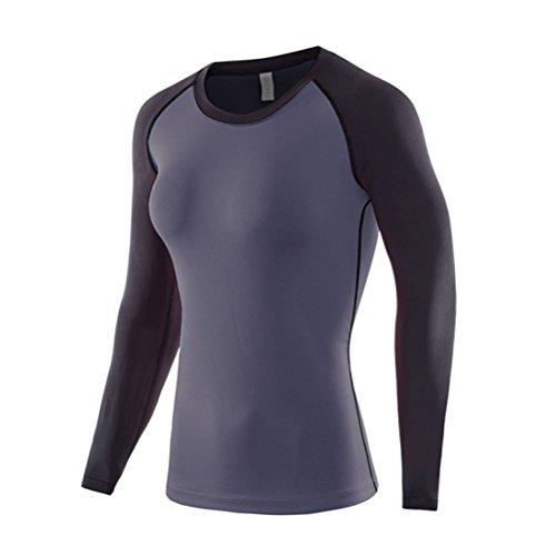 運賃姓の量Zhhlinyuan コンプレッションウェア レディーズ Ladies Baselayer コンプレッショントップス Running Yoga Workout 長袖 Under Shirt