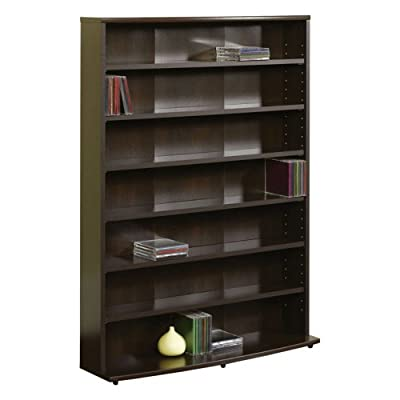 Sauder Multimedia Storage Tower, Cinnamon Cherry