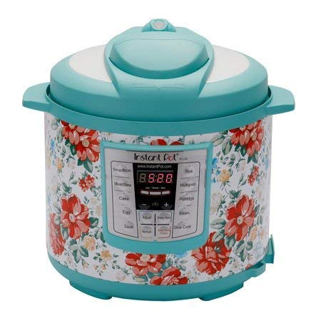 Instant Pot Pioneer Woman LUX60 Vintage Floral 6 Qt 6-in-1 Multi-Use Programmable Pressure Cooker, Slow Cooker, Rice Cooker, Saute, Steamer, and Warmer by Pioneer Women (Image #1)