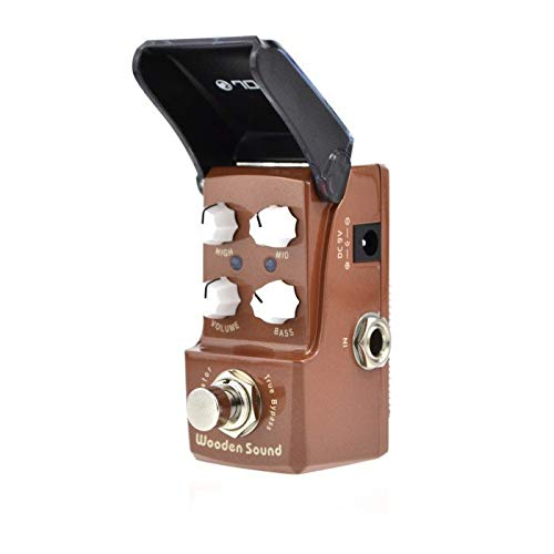 JOYO JF-323 Wooden Sound Acoustic Simulator Ironman Mini Guitar Effects Pedal