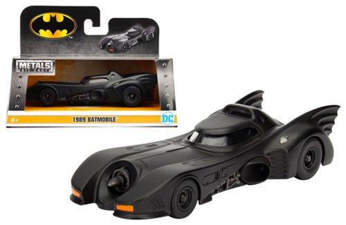 Batmobile Diecast Car (NEW 1:32 JADA TOYS COLLECTION - BLACK METALS BATMAN 1989 BATMOBILE Diecast Model Car By Jada Toys)