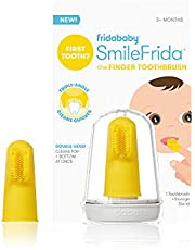 FridaBaby Baby's First Toothbrush with Case, 3 Months +