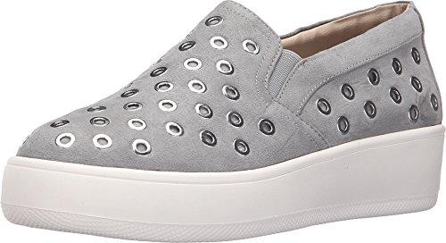 Steve Madden Women's Belit Fashion Sneaker, Grey, 9.5 M US