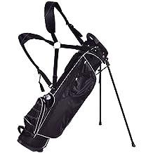 Tangkula Golf Bag w/ 4 Way Divider Stand Cart Bag