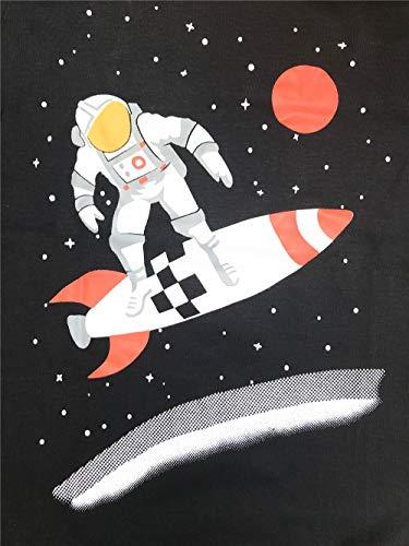Little Boys Pajamas for Boys Pyjamas Kids Astronaut Nightwear Sleepwear Long Sleeve Pjs Set Size 2-3 Years 3T