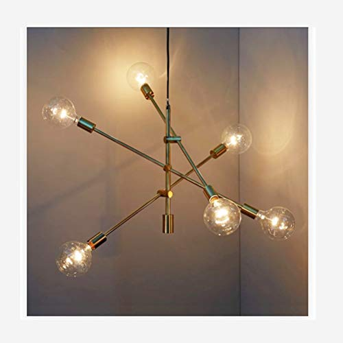 HN Lighting LED Pendant Light, Dining Table Ceiling Light for Office Hanging Lamp Dining Table, Study,Living Room Pendant Lamp 4W [Energy Class A ++]