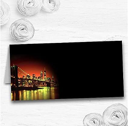 Segnaposto Matrimonio New York.New York Segnaposto Per Tavolo Di Nozze 90 Place Cards Amazon