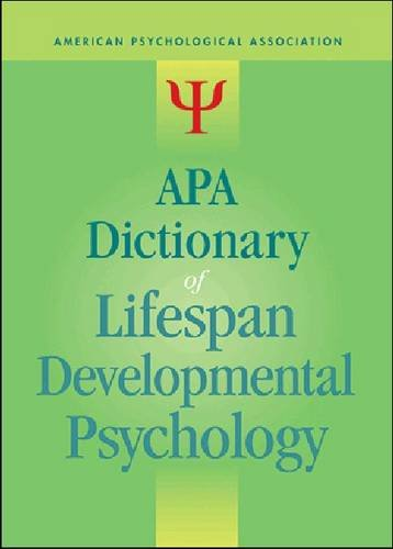 APA Dictionary of Lifespan Developmental Psychology