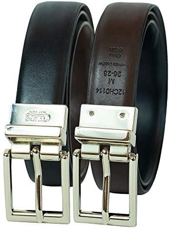 Chaps Boys` Big 1 Reversible Dress-Casual Belt