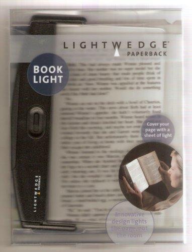 Lightwedge Paperback - Black from LightWedge Booklight, Paperback