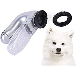 ZyMotorized Electric pet Suction Device Portable cat and Dog Massage Cleaning Vacuum Cleaner Cat and Dog Electric Depilation Machine pet Supplies