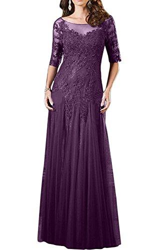 Formal Gruen Spitze Ballkleider Brautmutterkleider Formalkleider Damen Jaeger Abendkleider Langarm Kleider Traube Charmant zqHTFT
