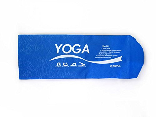 GOMA Yoga Bag, Navy Blue, 10M-GA815/RB Fits Most Size Mats