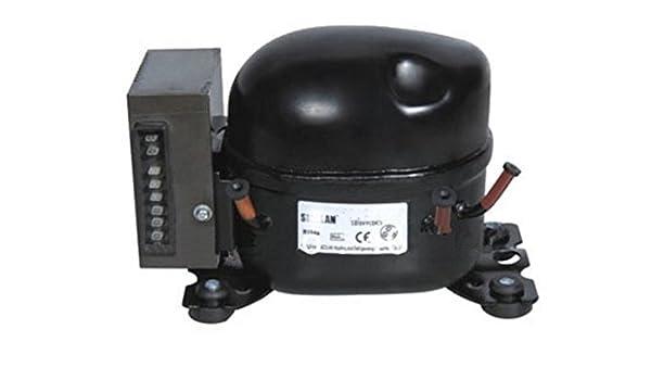 GOWE DC 12V/24V compresor para dispensador de agua pequeño refrigerador pequeño congelador para coche barco: Amazon.es: Bricolaje y herramientas