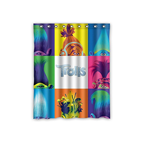 Troll Gang Glitter Curtains
