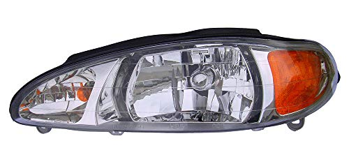 For 1997 1998 1999 2000 2001 2002 Ford Escort | Mercury Tracker Headlight Headlamp Assembly Driver Left Side Replacement FO2502137