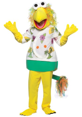 Rasta Imposta Mens Funny Mascot Fraggle Rock Wembly Fancy Dress Costume, One Size (Fraggle Costume)