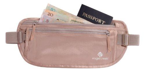 41rg zzaSML - Eagle Creek Silk Undercover Travel Money Belt, Rose