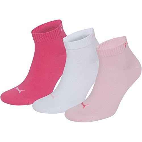 Femme Lady Pink Mélangé De Chaussettes 3 251015 Lot Puma Sport vIO77w