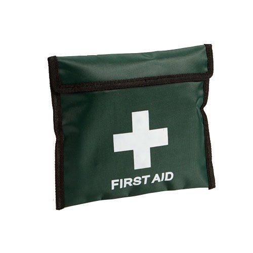 Steroplast 9652 Compact Belt Pouch Empty, Green, FIRST AID KIT