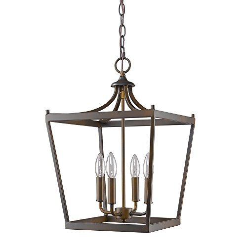 Acclaim Lighting IN11133ORB Kennedy Indoor 4-Light Pendant, Oil Rubbed Bronze
