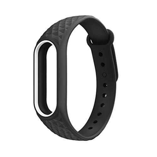 Pour de nouveaux Mode Electronics Gadgets lumière Original Bracelet en silicone Bracelet de remplacement pour Xiaomi Mi Band 2