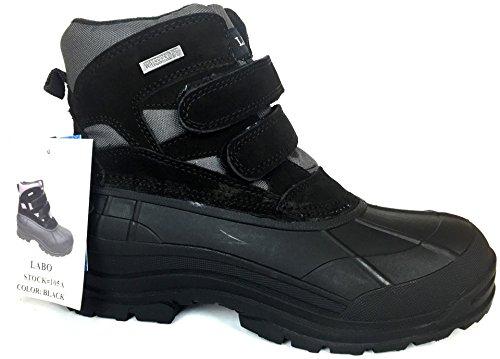 6'DUCK SNOW BOOT BLACK COLOR SIZE 105A- 10