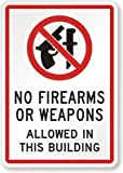 No Firearms Or Weapons Allowed In This Building