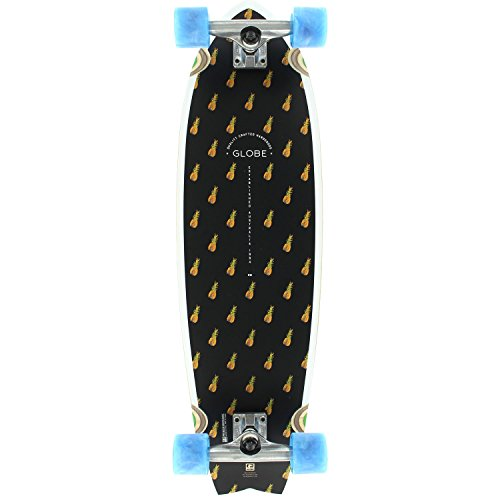 Bam Complete Skateboards (Globe Chromantic Complete Skateboard -9.7x33 Black/Pineapple/Bam)