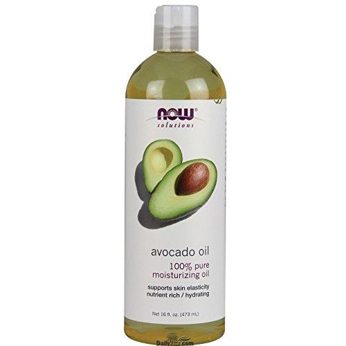 NOW Foods 100% Pure Avocado Natural Essential Oil 16 Oz