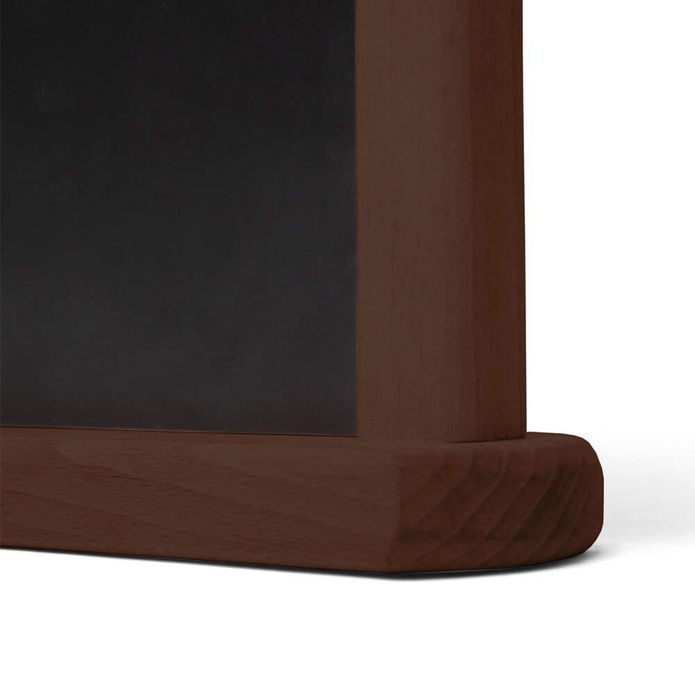 Pizarra Pizarra - Expositor de mydisplays - Pequeñas para mesa, mostrador, Theken - Doble mismo tiempo se puede escribir de 2 tamaños - 3 colores, ...