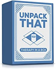 Unpack That - Card Game for Couples and Family - 125 Carefully Crafted Conversation Starters for Building Conn