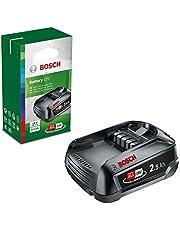 Bosch Home and Garden Zelf Verwisselbare Accu PBA 18 V (Lithium-Ion, 2,5 Ah, Compatibel met alle apparaten met het Bosch Home 18 Volt systeem)