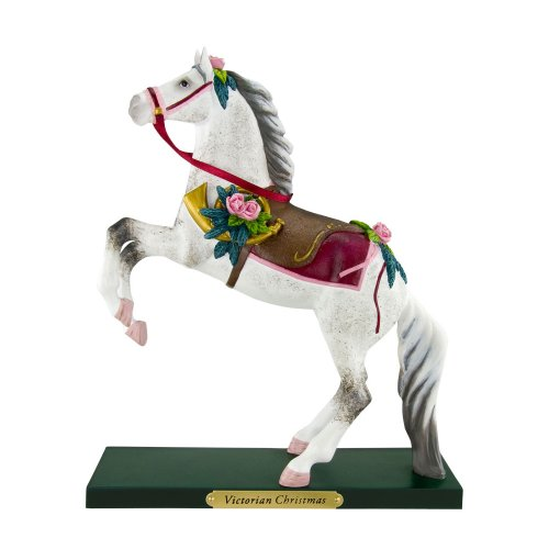 Victorian Christmas Figurine - Enesco Trail of Painted Ponies from Victorian Christmas Figurine 8.5 in