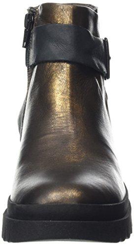 FLY London Halp773fly, Botines para Mujer Marrón (Bronze/black 003)