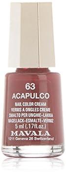 Mavala Switzerland Nail Color Cream Acapulco-63
