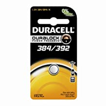 Duracell Watch-384 384/392 1.5V Watch/Electronic Battery, 1 Count