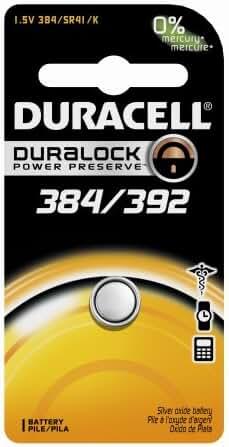 DURACELL D384/392B Watch/Calculator Battery