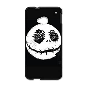 HTC One M7 Cell Phone Case Black_KING OF HALLOWEEN TR2418259