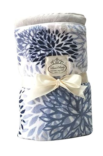 - LUXE BABY Print Blossoms, Sky
