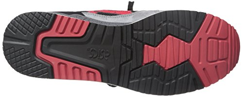 Red classic Gel Sneaker Retro Asics Men's Iii lyte Black nHU0qF8w7x