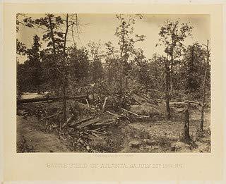 HistoricalFindings Photo: Battle Field of Atlanta, GA July 22d 1864 No 1. (Ga Atlanta Furniture)