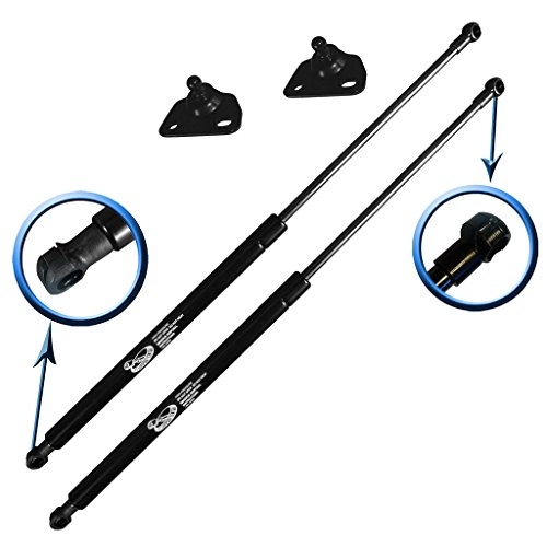 Two Rear Hatch Hatchback Liftgate Trunk Gas Charged Lift Supports for 2010-2015 Toyota Prius Hatchback. Left and Right Side. LSC-0392-2 ()