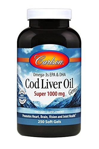 Carlson Liver Norwegian Vitamins Omega 3s