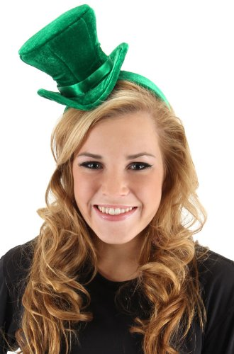 elope Green Cocktail Top Hat Headband ()