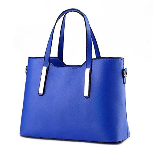 Designer Sacs Blue sacs Sacs féminin femmes Handle Sky Femmes main tout Top occasionnel épaule fourre Rouge amp; Les à bandoulière A4ZqIBw