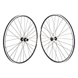 WHEEL MASTER WHEELS 700C Alloy Road Double Wall 700 SET 13 QR Blk MSW WTB Freedom Racine Elite Shi RS400 100 - 130 Blk 8-11s Cass RIM DT-2.0 SS BK 28H Dbl PV