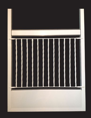 Designer Screen Door Grille, Pet Screen Door Guard, By Al...