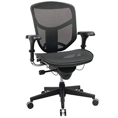 WorkPro Quantum 9000 Series Ergonomic Mid-Back Mesh/Mesh Chair, ()